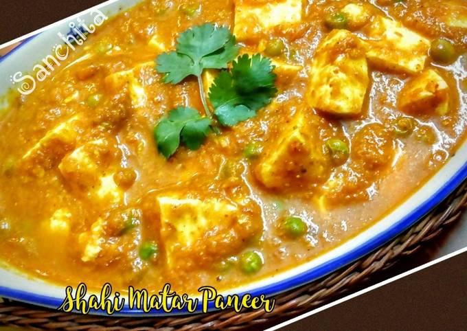 Simple Way to Prepare Favorite Shahi Matar Paneer