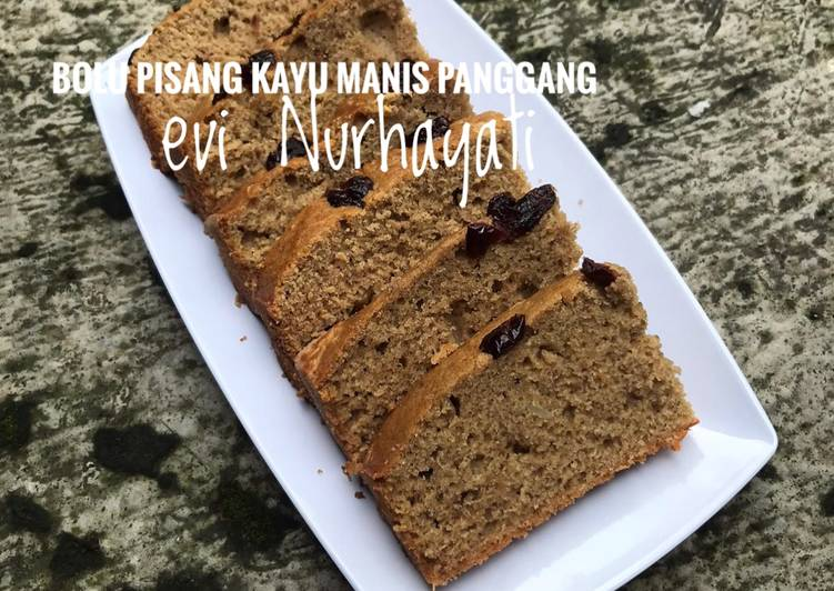 Bolu Pisang Kayu Manis Panggang - cookandrecipe.com