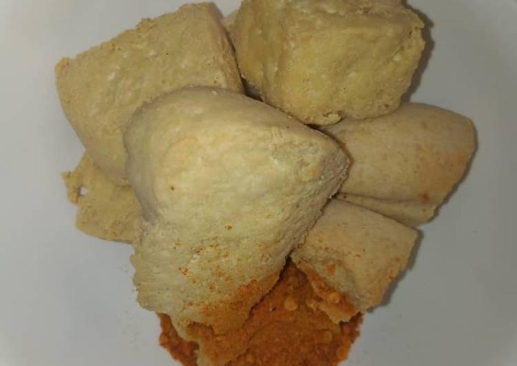How to Make Homemade Fried tofu with dried pepper