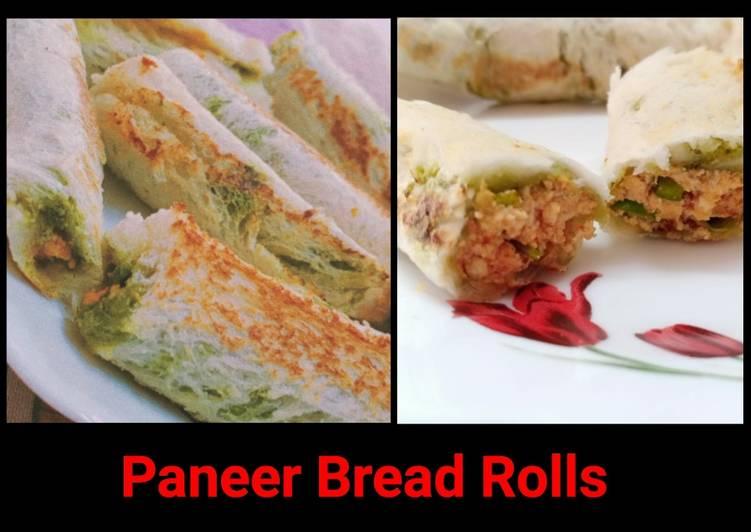 30 Minute Easiest Way to Make Spring Paneer Bread Rolls