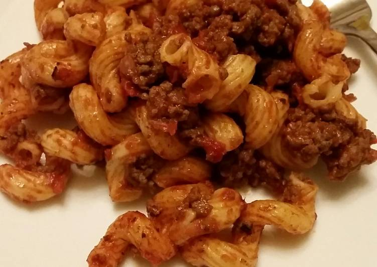 Easiest Way to Make Appetizing Simple American Chop Suey / American Goulash