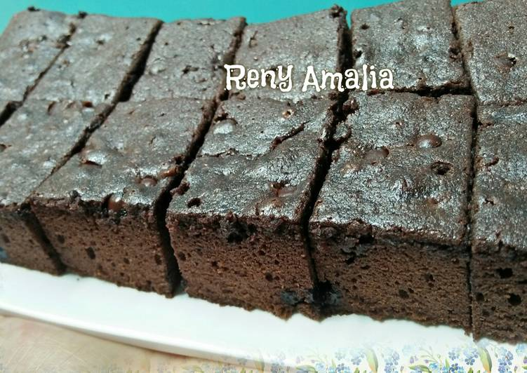 Brownies Panggang 🍫🍰 di Panci Presto