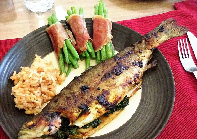Recipe of Super Quick Homemade Grilled Chipotle Trout