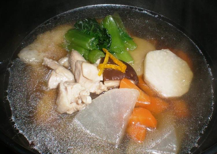 Simple Chicken Ozoni (Mochi Soup) (Kanto Style), Apples Can Certainly Have Enormous Advantages To Improve Your Health