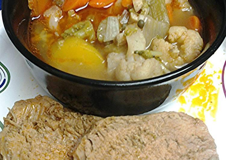 Easiest Way to Prepare Homemade Pork loin stove top