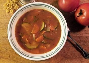 Easiest Way to Prepare Perfect Creamy minestrone soup