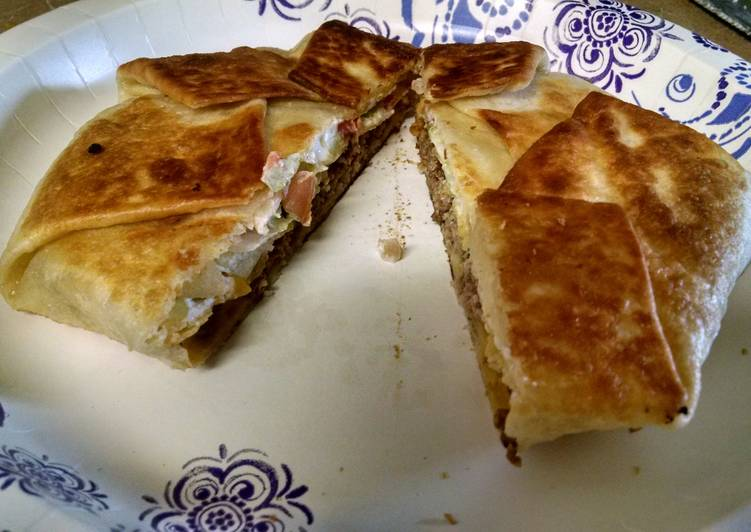 Home Made Crunch Wrap Supremes