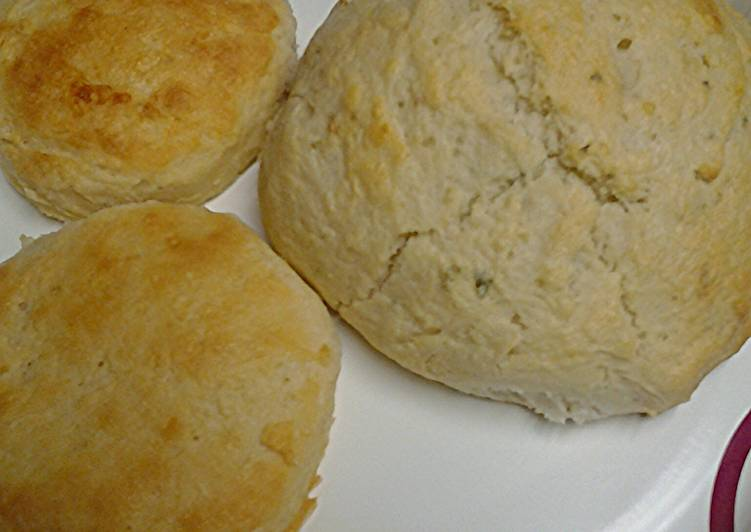 Recipe of Perfect Herb and buttermilk biscuits