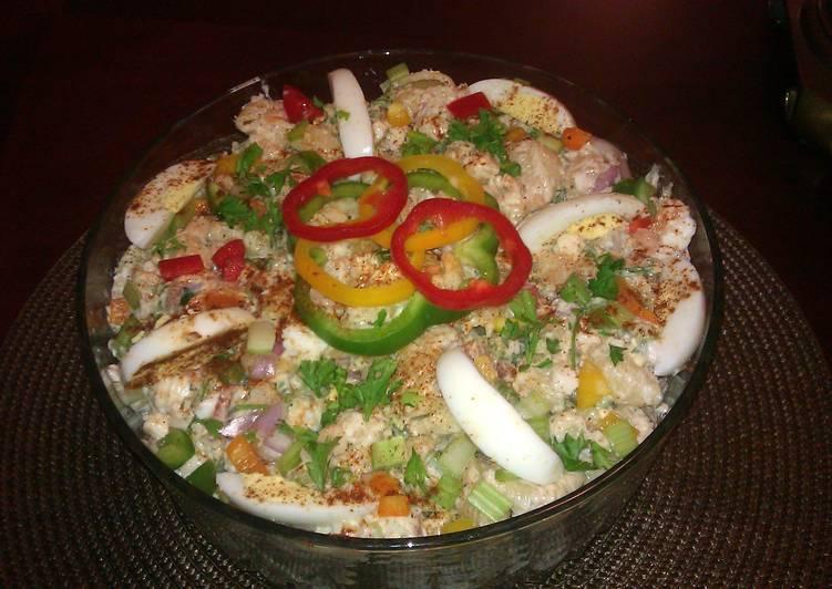 Rick's Crabby Shrimp Macaroni Salad