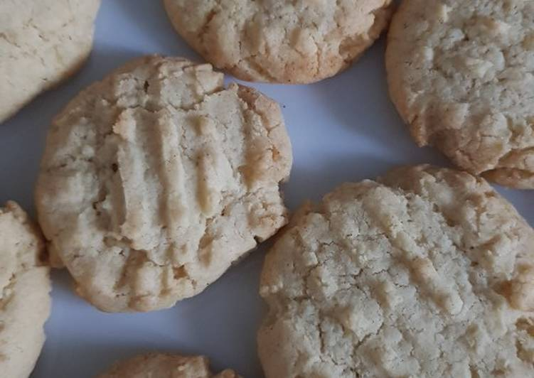 Easy peasy 3 ingredient biscuits