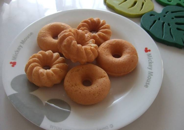 Baked Okara Mini Donuts - Laurie G Edwards