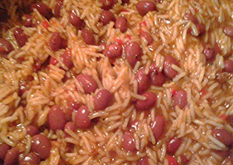 Basmati rice with red beans