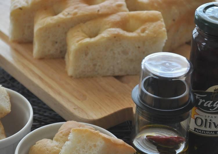 How to Make Award-winning Krazy Salt & Pepper Focaccia