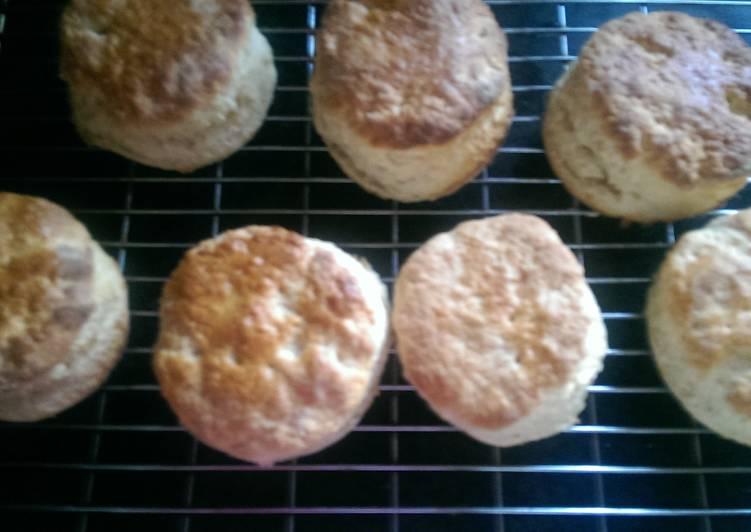 Mandys sweet scones/biscuits