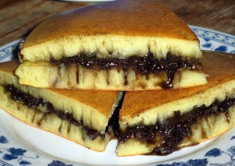 Martabak Manis  (Indonesian Sweet Pancake)