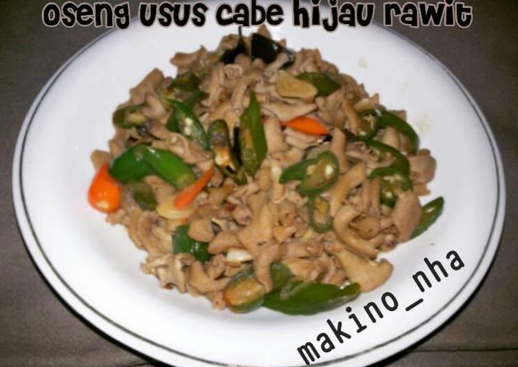 Resep Oseng Usus Cabe Hijau Rawit Anti Gagal
