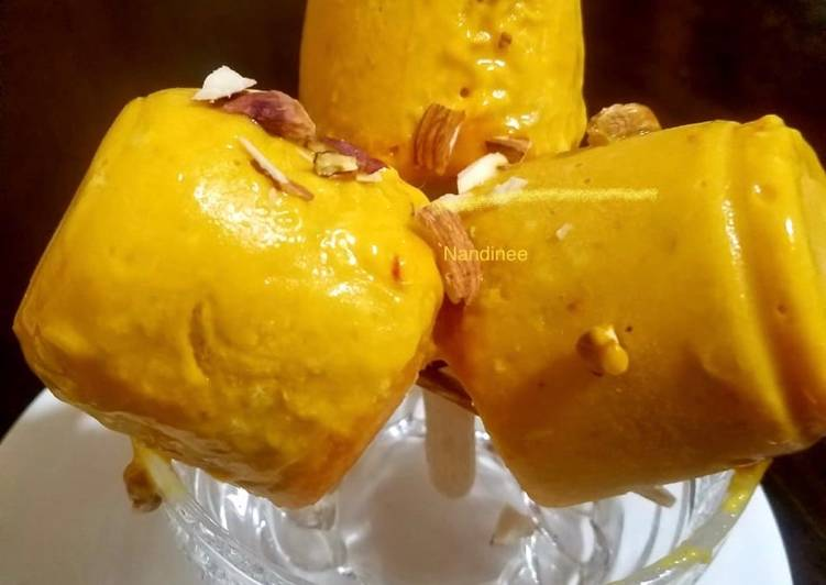 5 Minute Step-by-Step Guide to Make Spring Alphonso mango kulfi