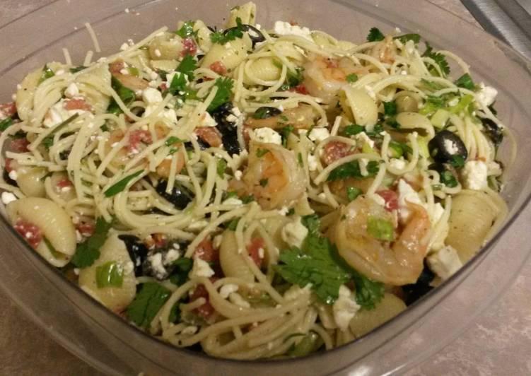 Summer Shrimp Pasta Salad