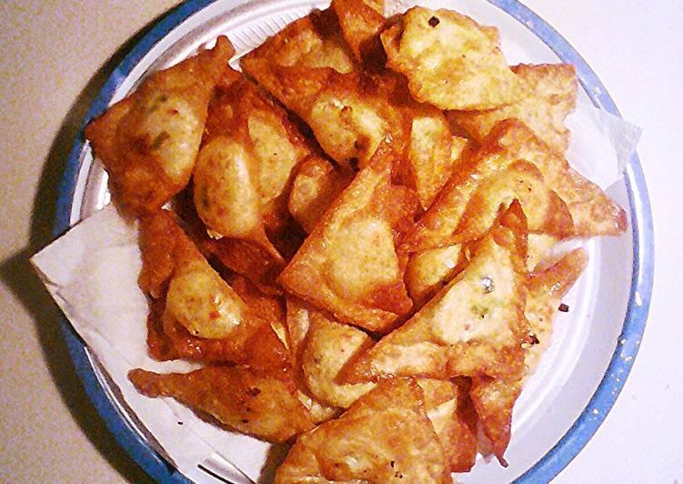 Recipe of Award-winning Crispy Crab Rangoon's