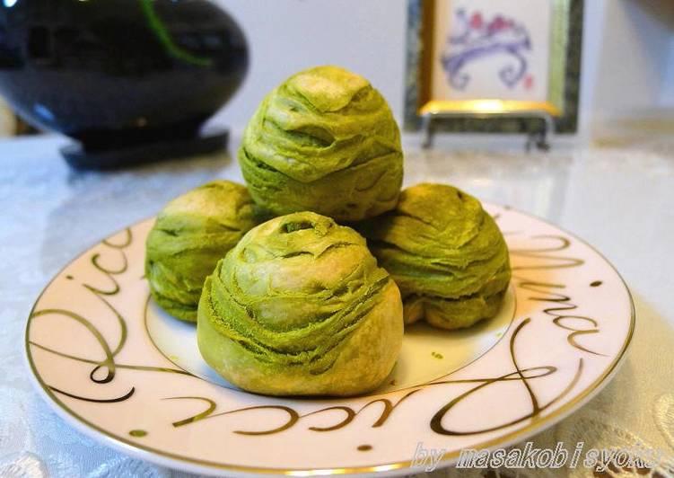 Steps to Prepare Perfect Matcha Sū Shì Yuèbǐng (Chinese Dim Sum)
