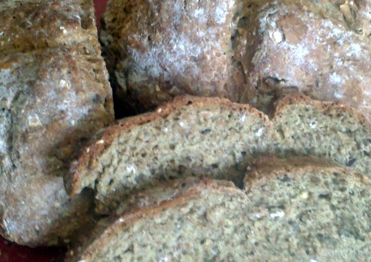 How to Make Yummy sig's wholemeal and oat soda bread