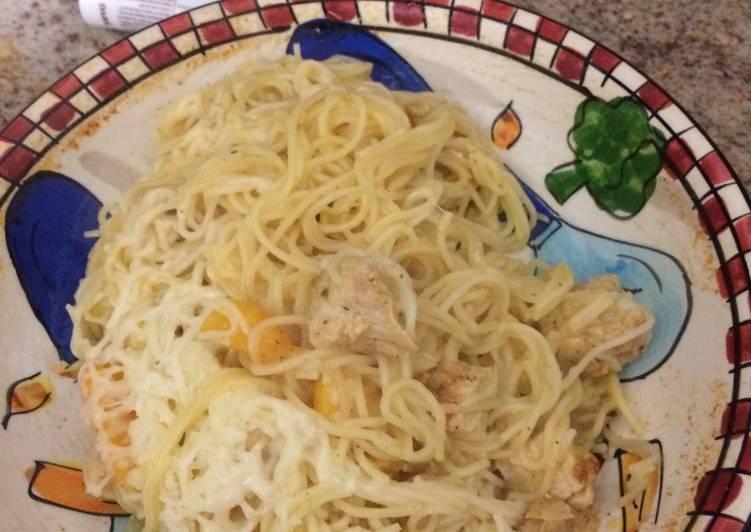 Chicken Pasta... Surprise?