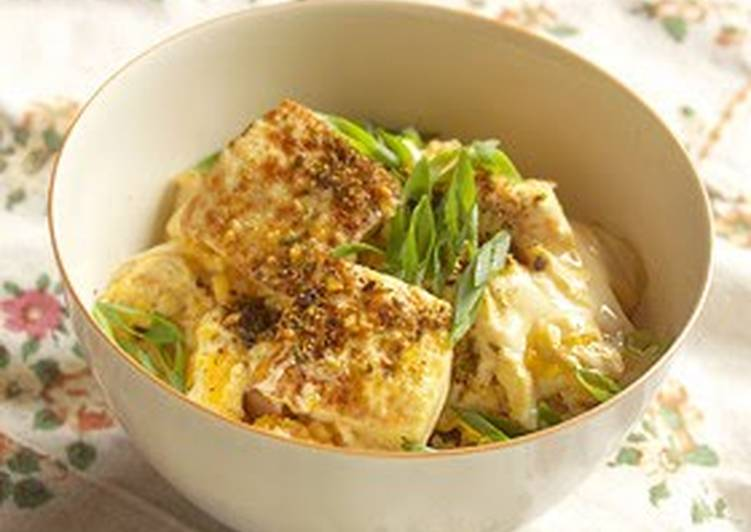 Discover How to Elevate Your Mood with Food Silken Tofu and Egg Rice Bowl