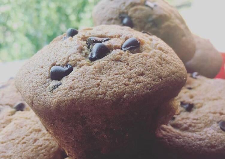 Ricetta Muffin gocce di cioccolato