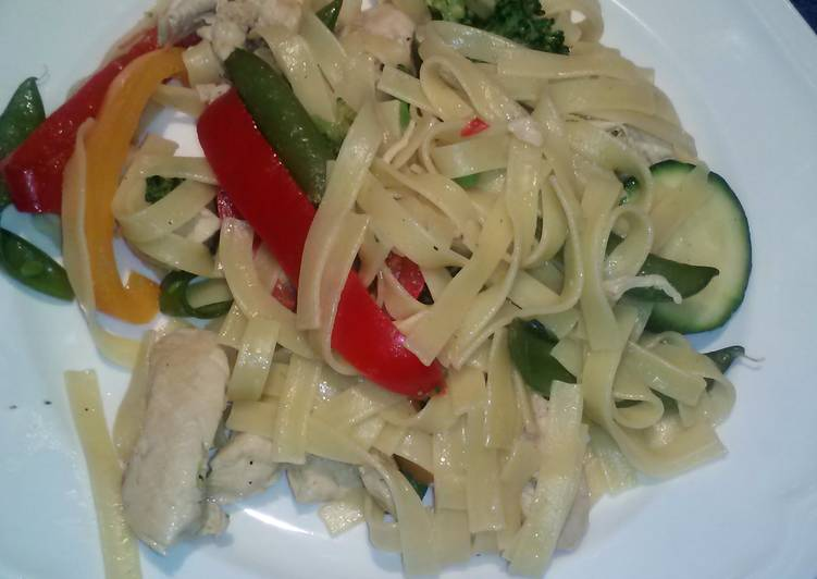 Glens ginger chicken stirfry