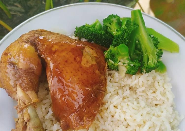 Nasi hainan ricecooker