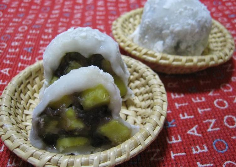 Picking The Right Foods Can Help You Stay Fit And Also Healthy Rustic & Chunky Sweet Potato Daifuku