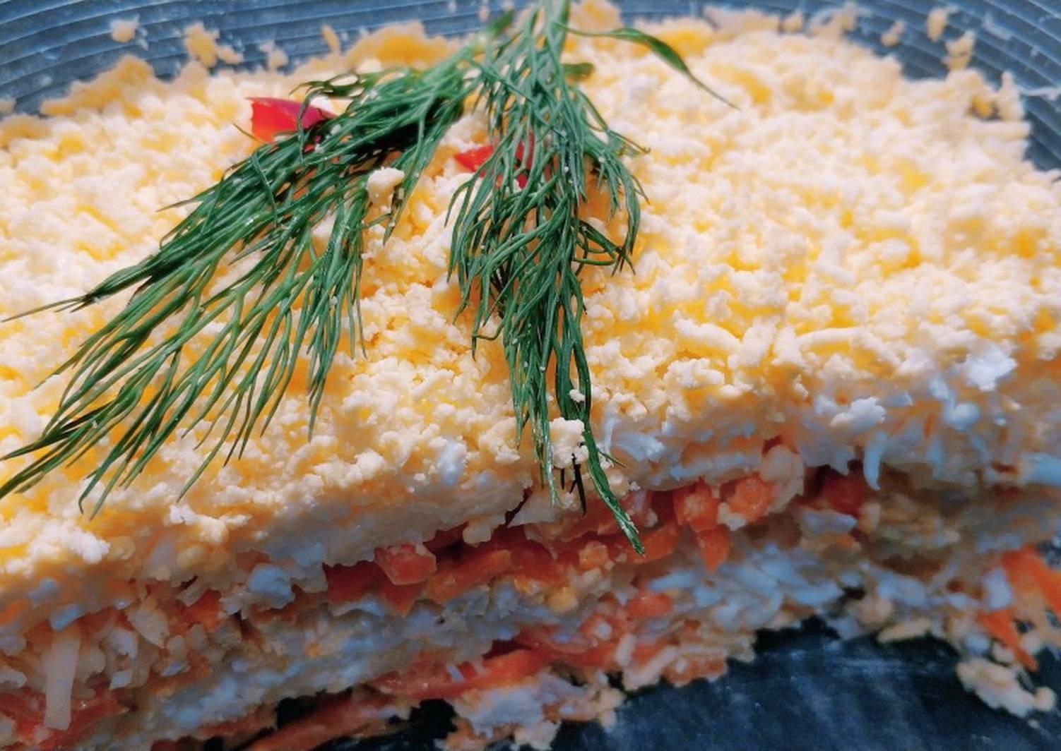 домов салаты слоеные рецепты с фото простые хмидан