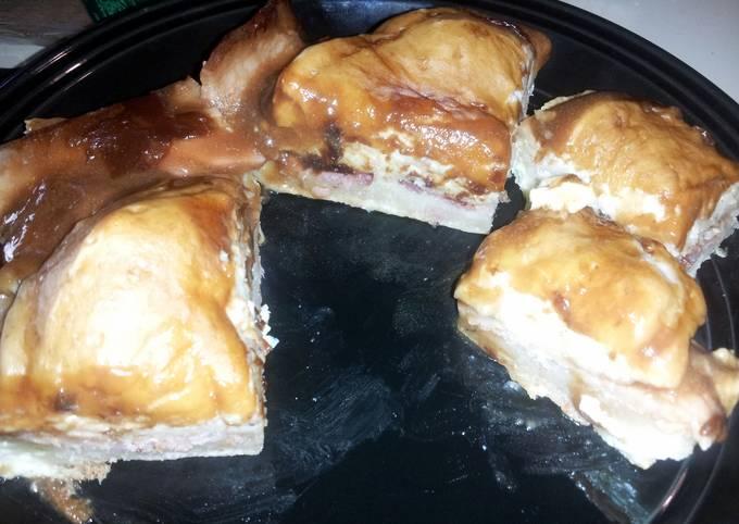 Recipe: Delicious Buttermilk Biscuit Gravy Egg Bacon Bake