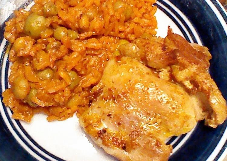 Arroz Con Gandules / Rice with Pigeon Peas