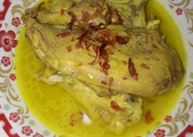 Resep Opor ayam fibercream Yang Populer Sedap