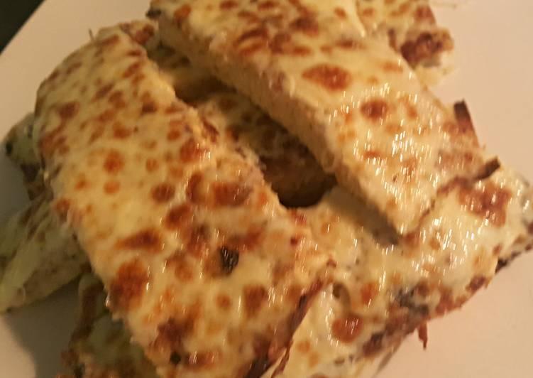 Cauliflower Pizza Sticks