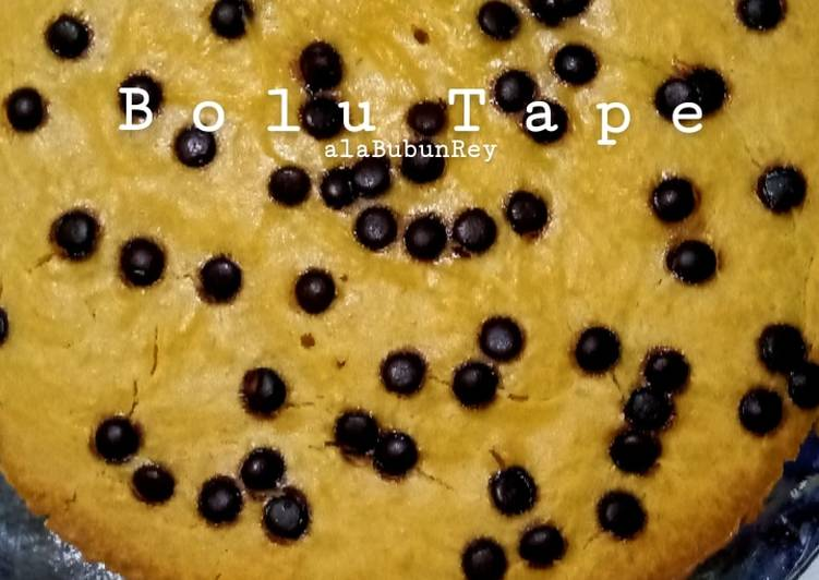 Bolu Tape takaran sendok