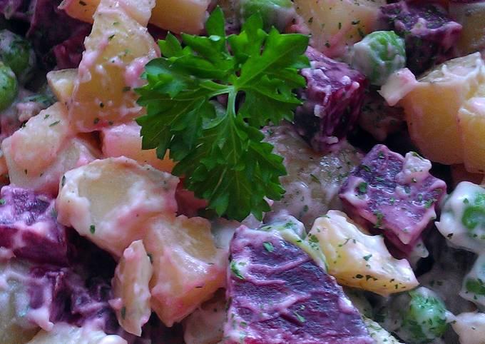 Vickys Scottish Potato Salad, GF DF EF SF NF