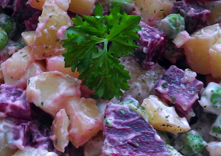 Vickys Scottish Potato Salad, GF DF EF SF NF