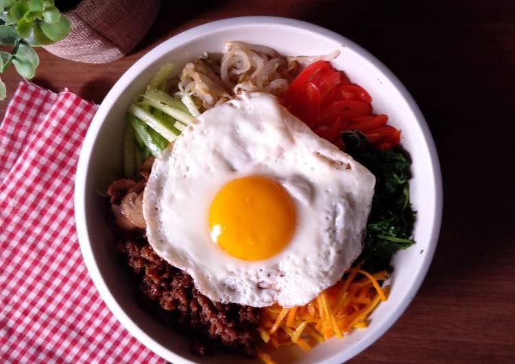 Bibimbap (Nasi Campur Ala Korea)