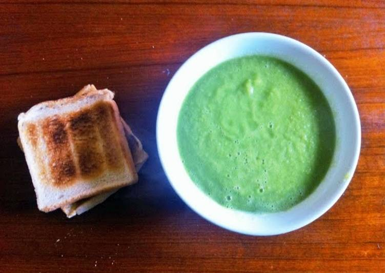 green bean soup on the fly