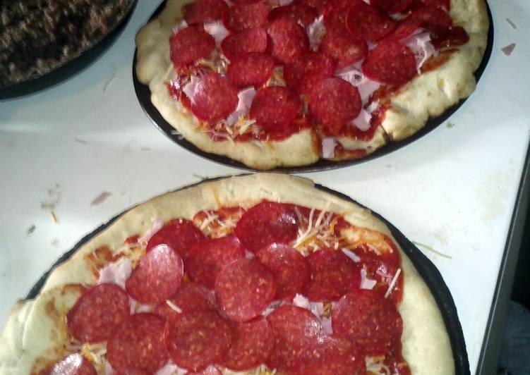 Recipe: Perfect Homemade Meat Pizza