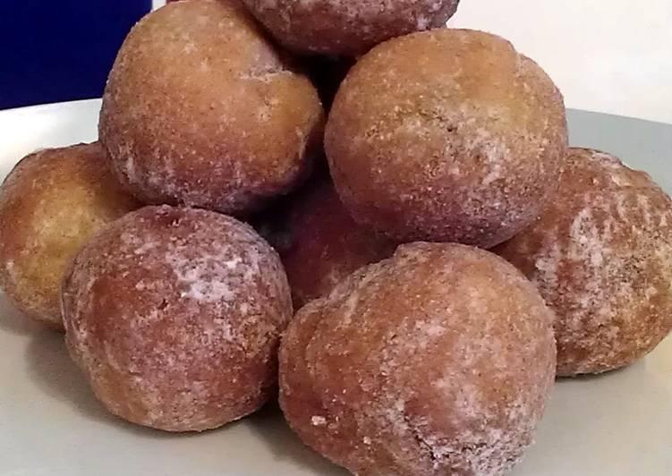 Vickys Pumpkin Spiced Mini Donut Balls, GF DF EF SF NF