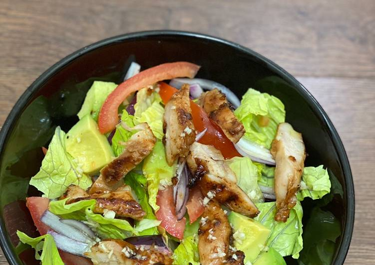 Recipe: Perfect Chicken Avocado Salad