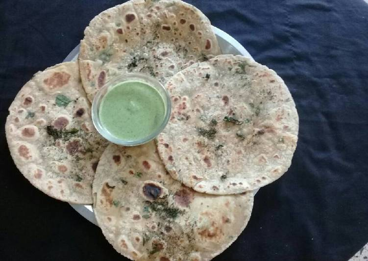 What are some Dinner Easy Super Quick Homemade Pudina Paratha / Mint Parata