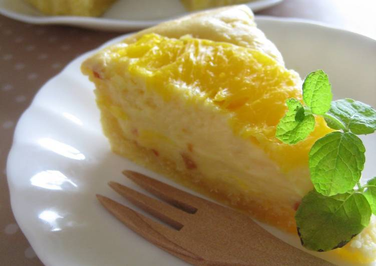 Discover How to Elevate Your Mood with Food Sunshine Cream Cheese Tart