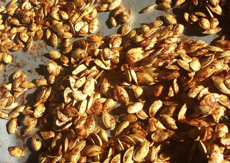 The Best Way to Cook Perfect Cinnamon sugar pumpkin seeds
