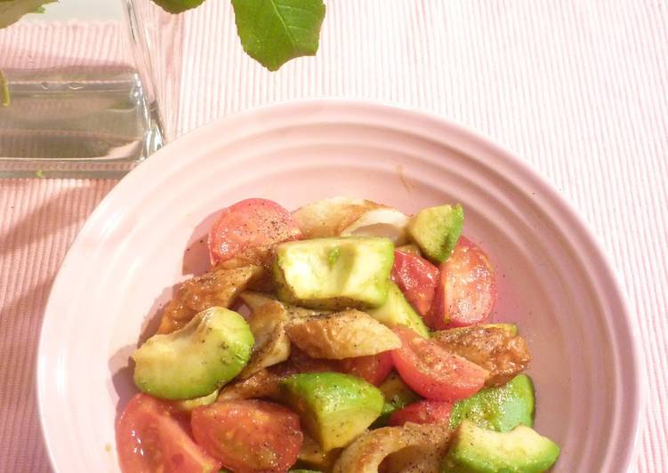 Choosing The Right Foods Will Help You Stay Fit And Also Healthy Quick Chikuwa, Avocado, and Tomato Stir-fry