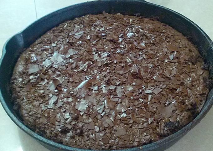 Recipe: Tasty Cast Iron Skillet Brownie