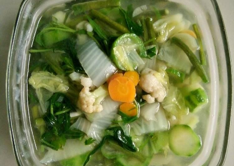 Sup Sayur Bening